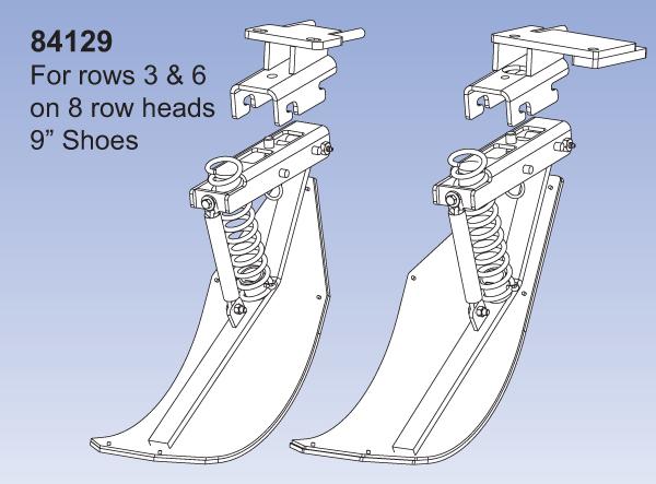2 Row - JD 90/40 QD2 - Rows 3&6 on 8 Row Heads