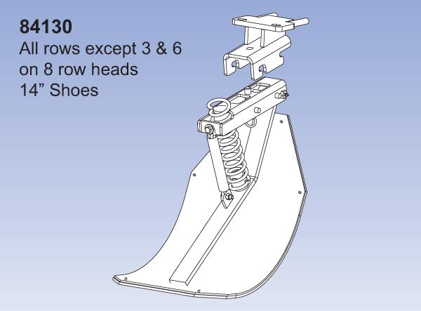 2 Row - JD 90/40 QD2 - All rows except 3&6 on 8 Row Heads