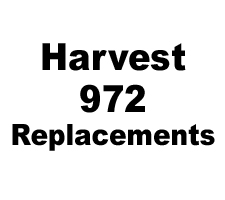 Harvest 972 Skid Shoe Replacement Parts