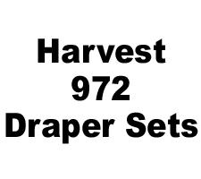 Harvest 972 Draper Skid Shoe Sets