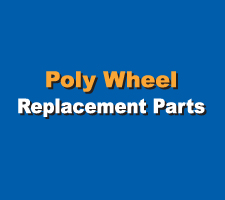 Poly Wheel Replacement Parts