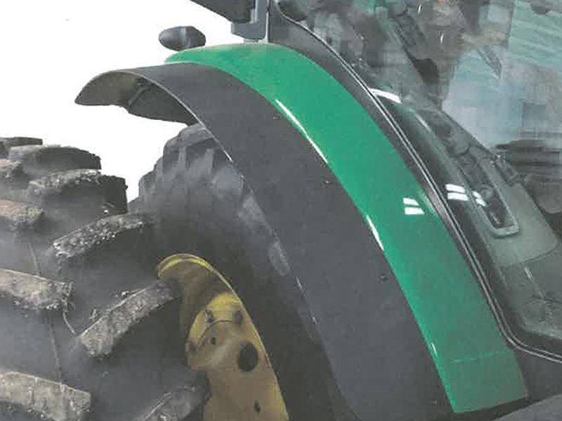 John Deere tractor fender extension