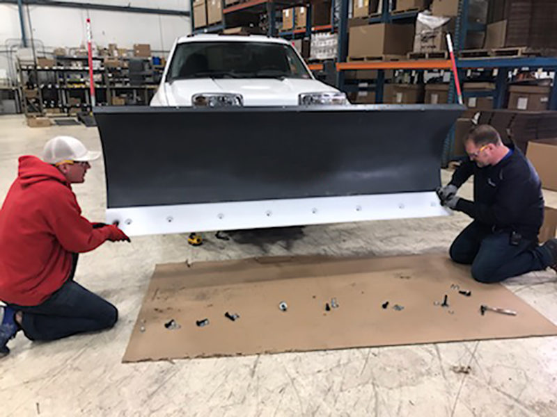 Poly Cutting Edge for Plow Blades   May Wes Manufacturing