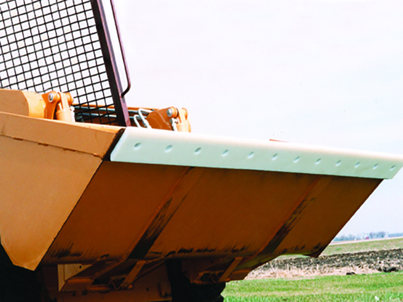 poly cutting edge for skid steer