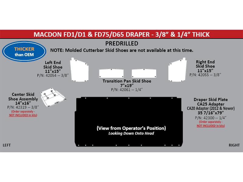 Macdon fd1 d1 fd75 d65